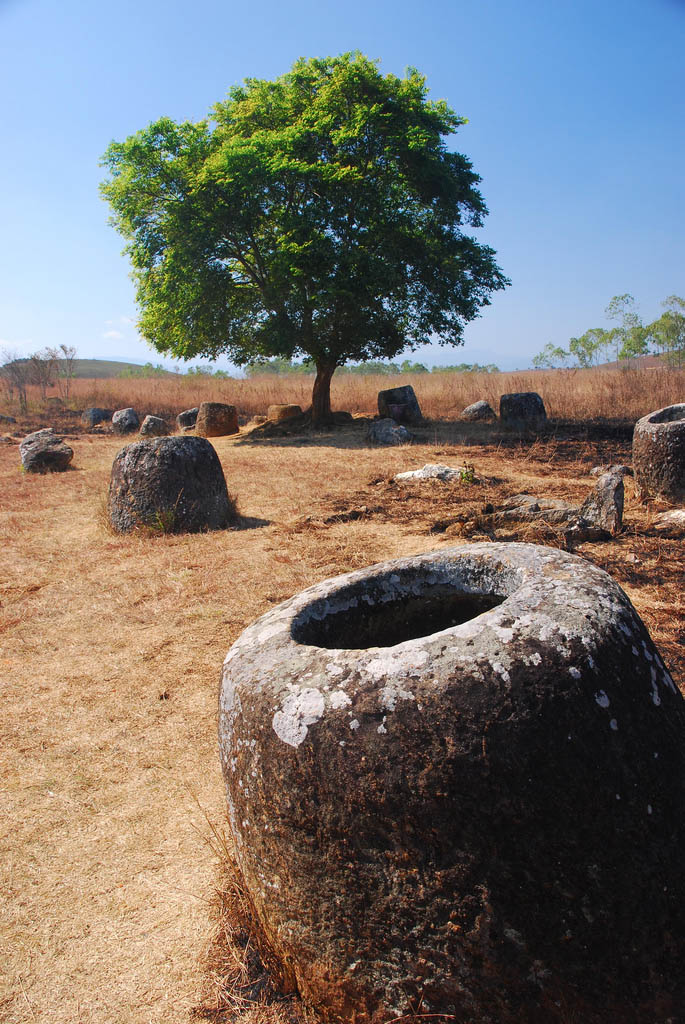 plain jars3 Mysterious Plain of Jars in Laos