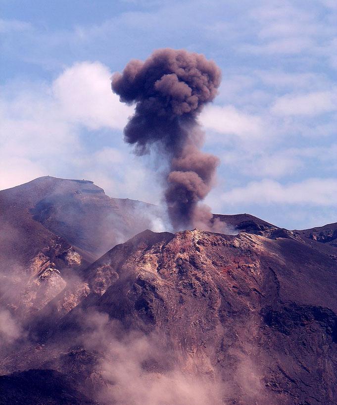 stromboli volcano5 Stromboli   The Most Active Volcano on the Earth