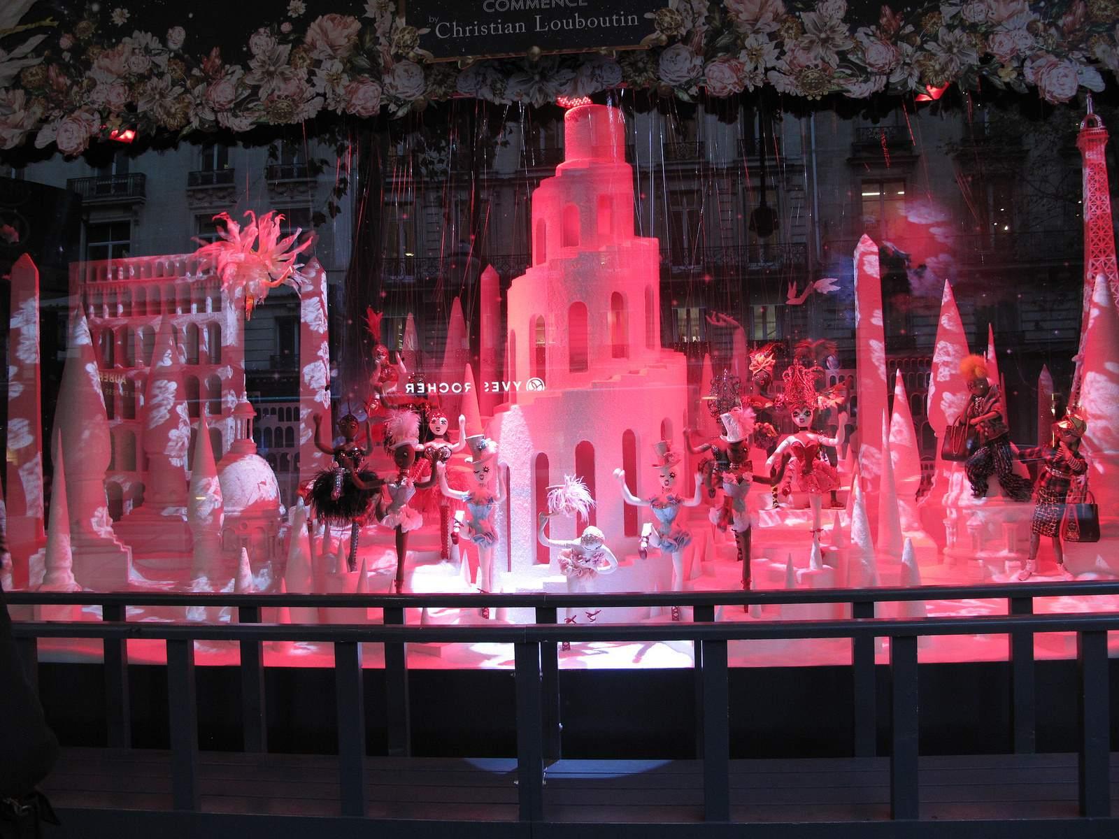 vitrines noel3 Christmas window displays in Paris
