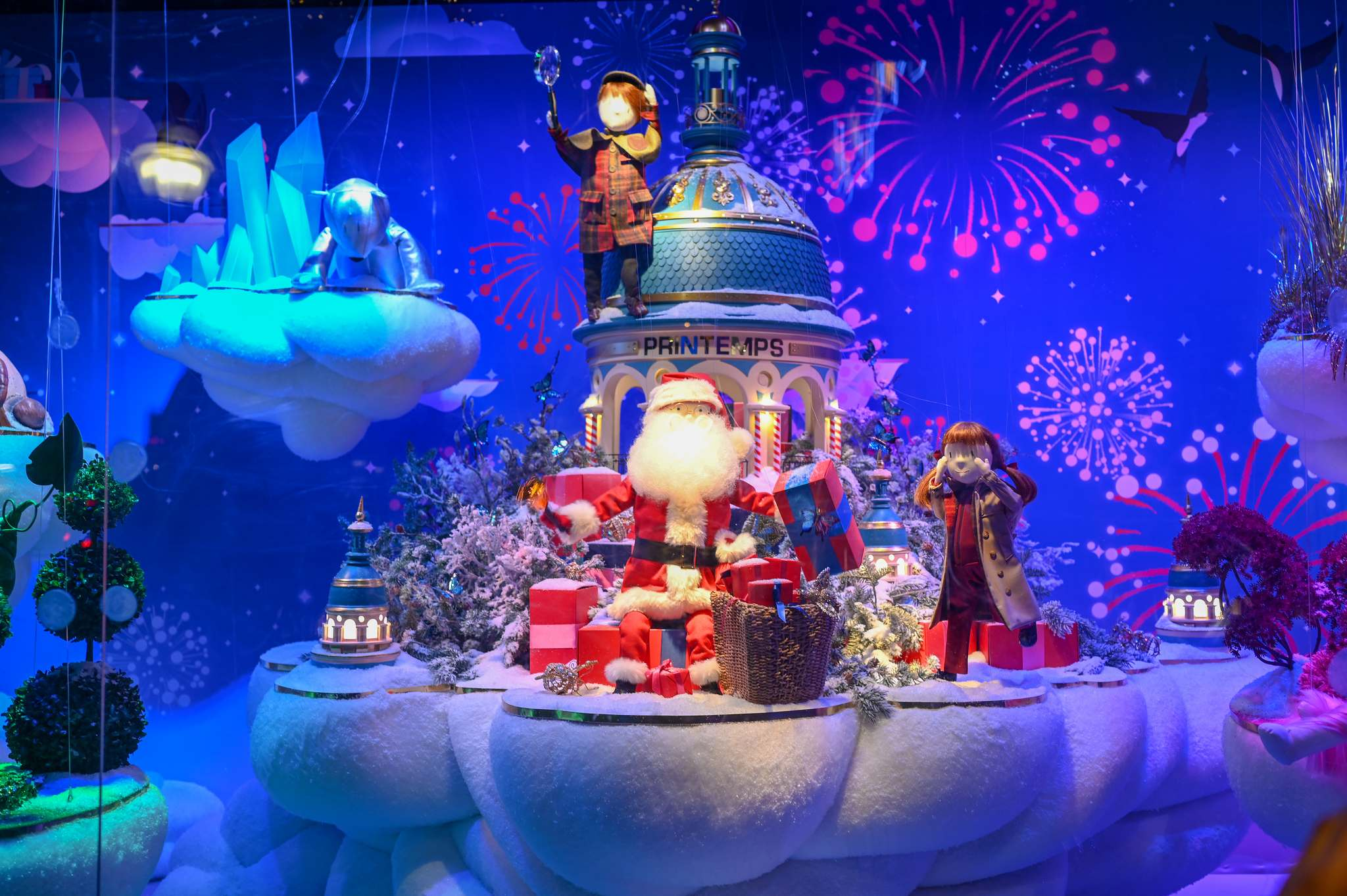 christmas windows Christmas windows in Paris