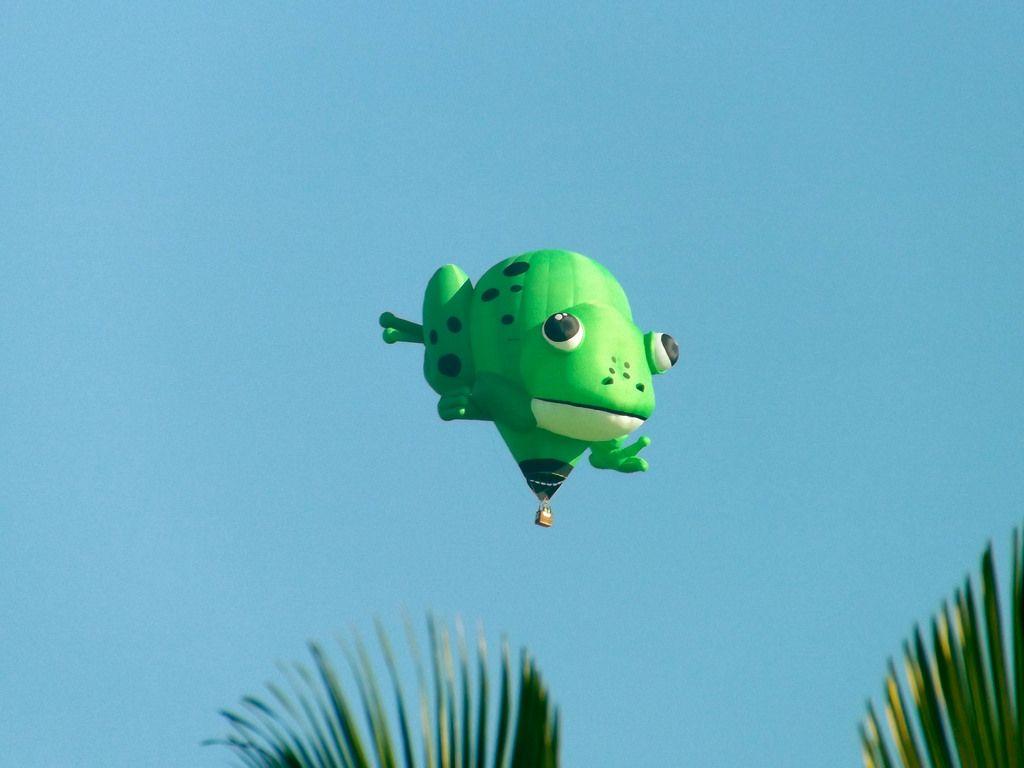balloon festival1 International Balloon Festival in Torres, Brazil