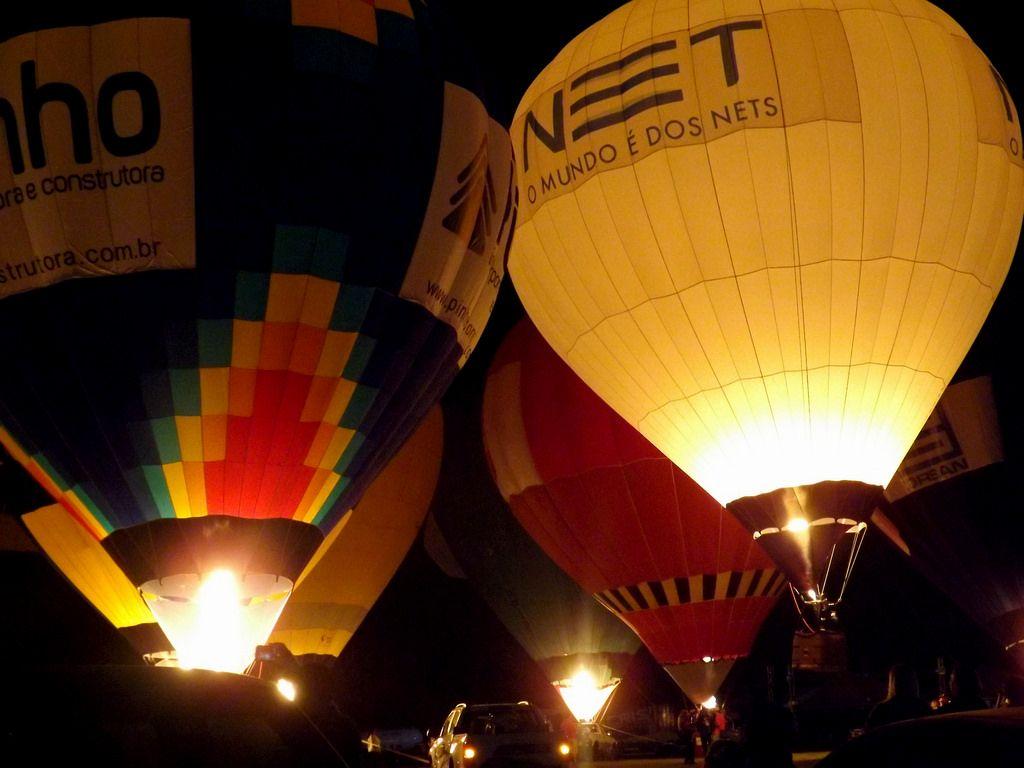 balloon festival11 International Balloon Festival in Torres, Brazil