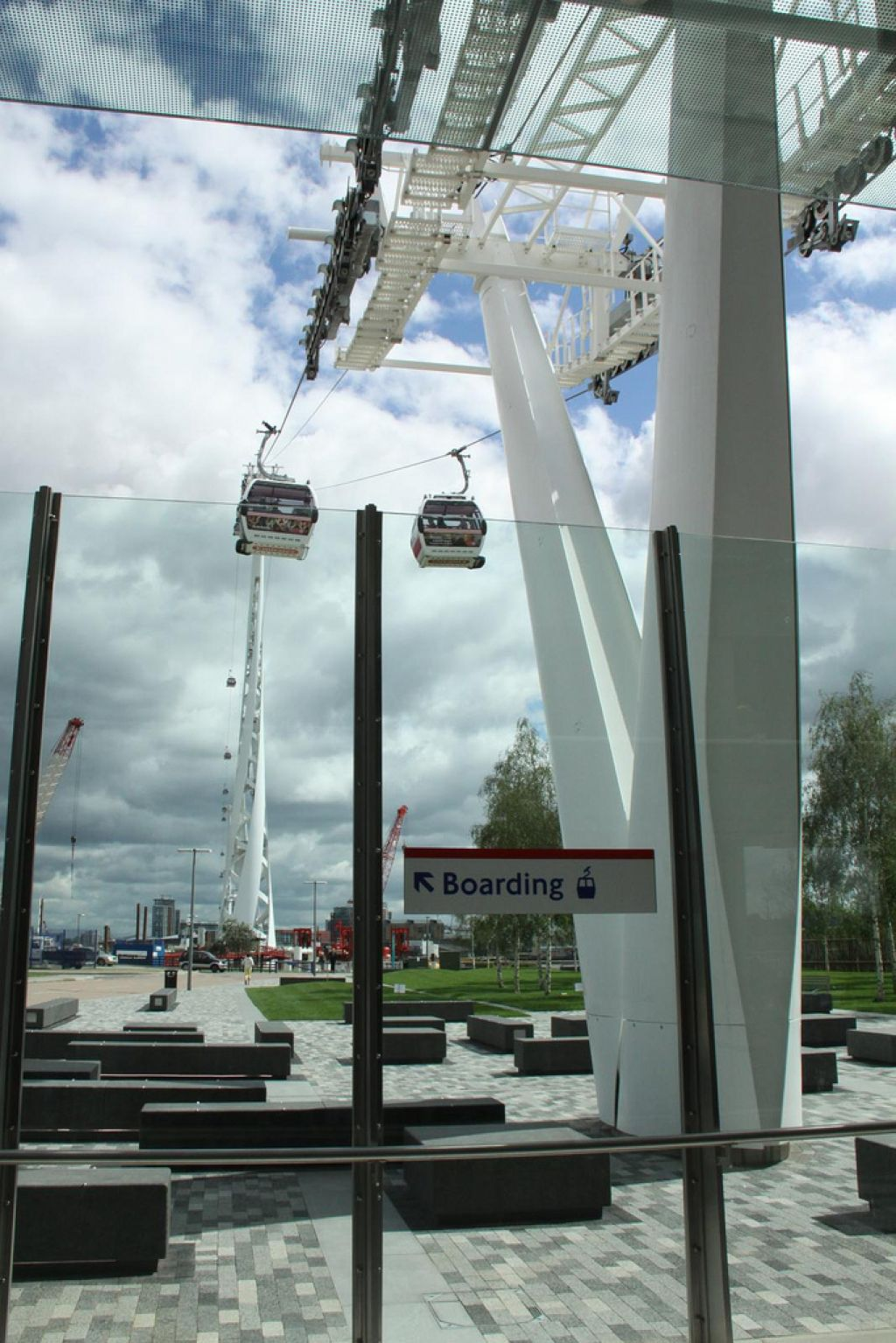 emirates air line2 London Olympics 2012   Cable Car over Thames