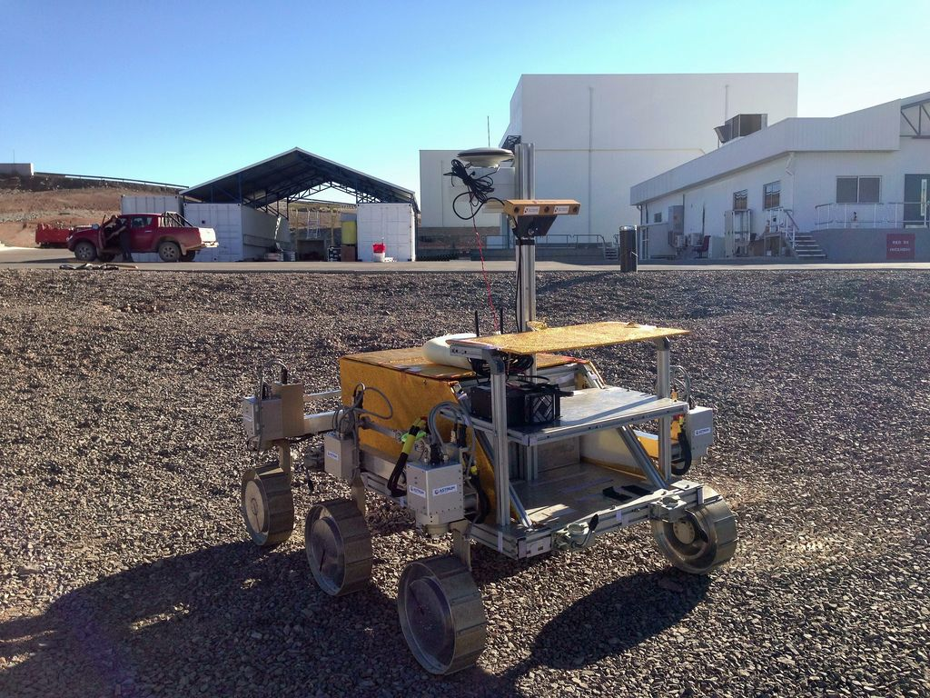 mars rover2 Mars Rover was Tested in the Atacama Desert