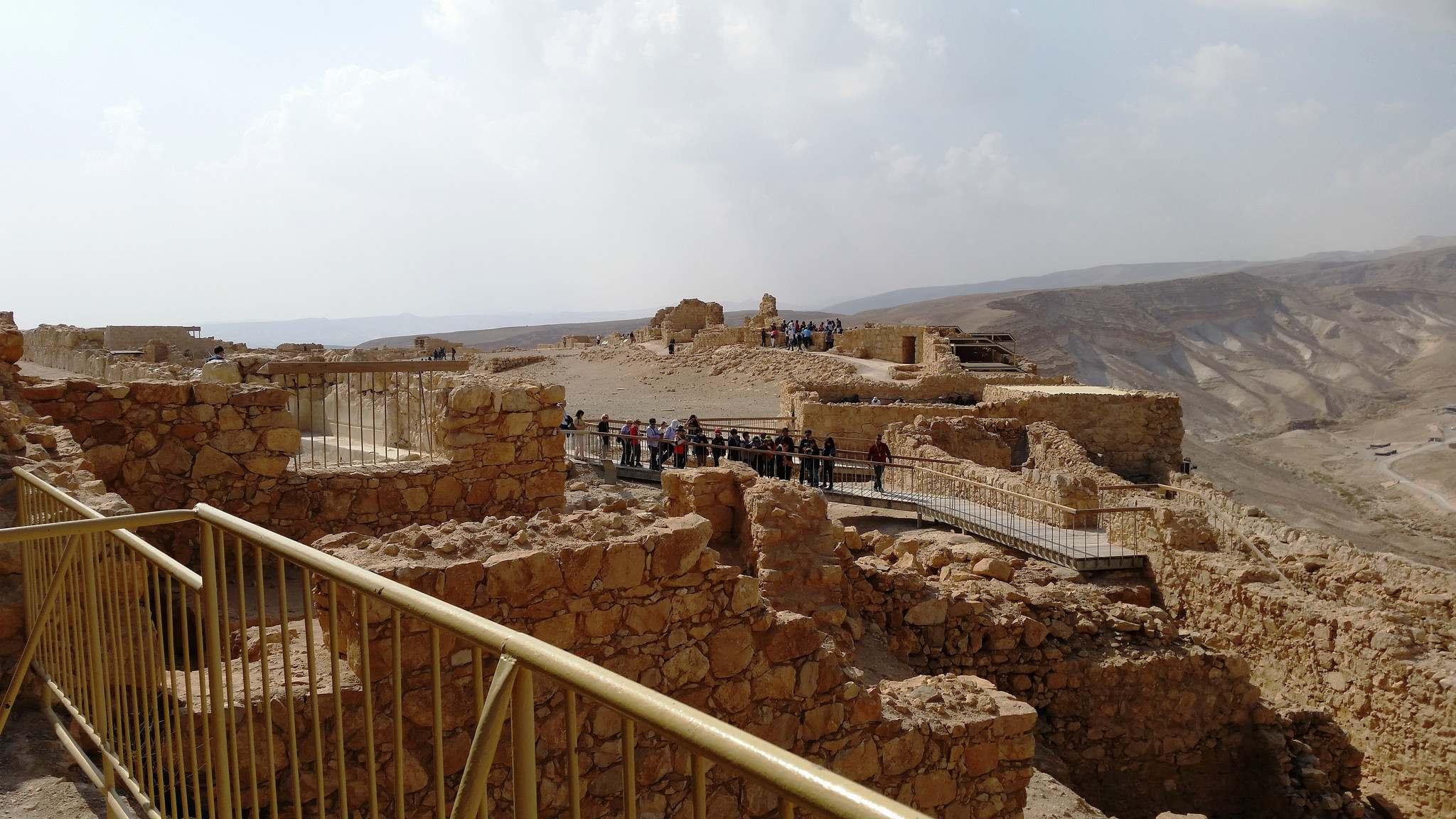 masada Masada Desert Fortress in Israel