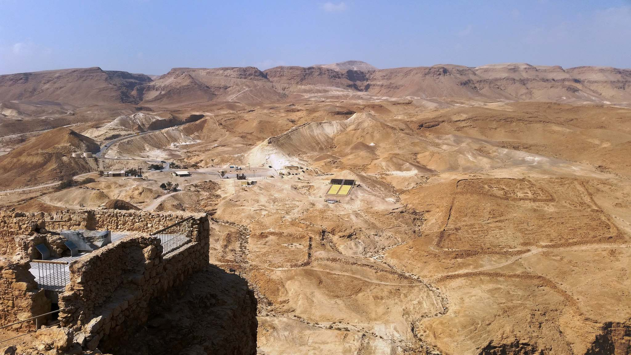 masada11 Masada Desert Fortress in Israel