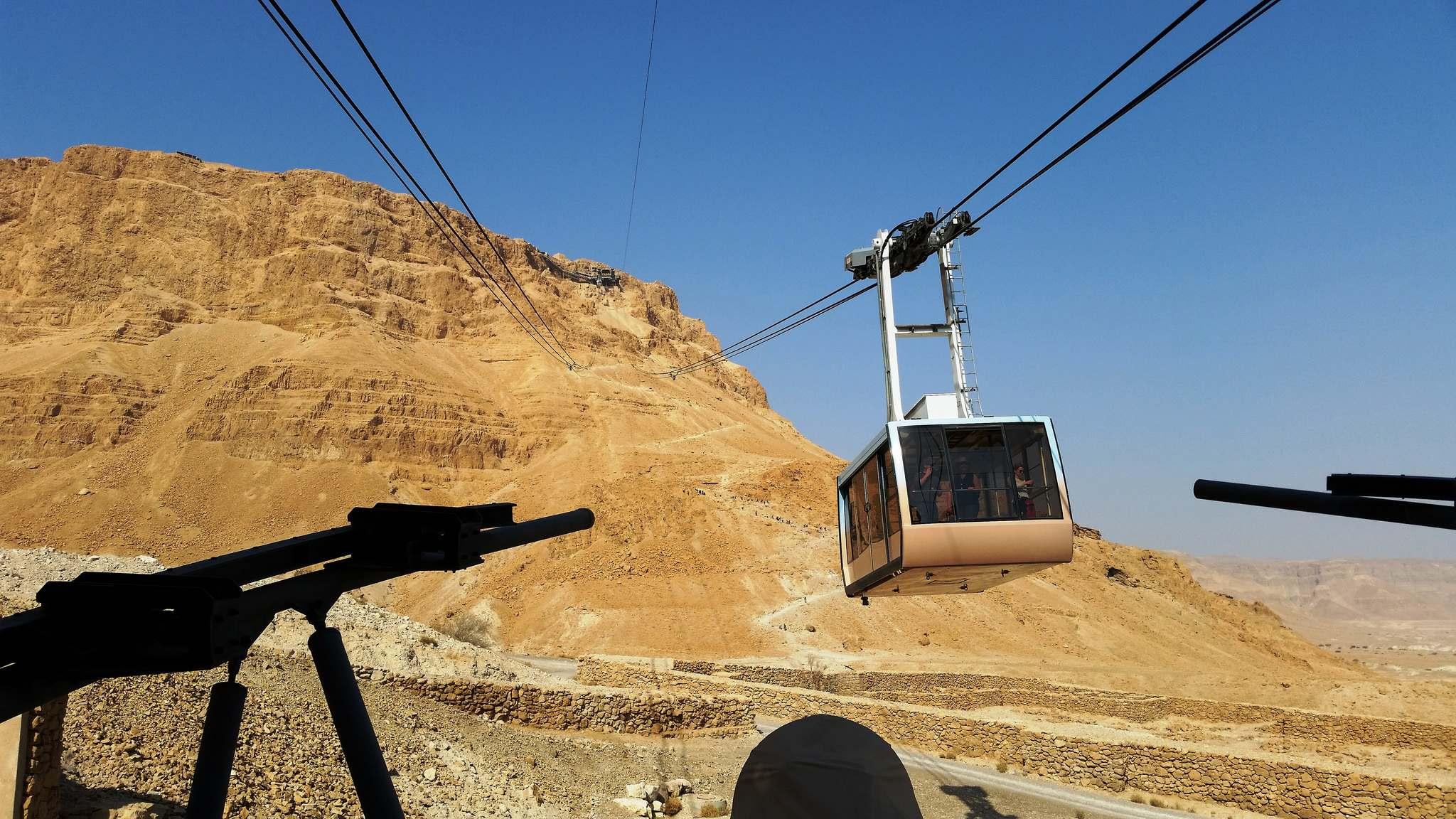 masada2 Masada Desert Fortress in Israel