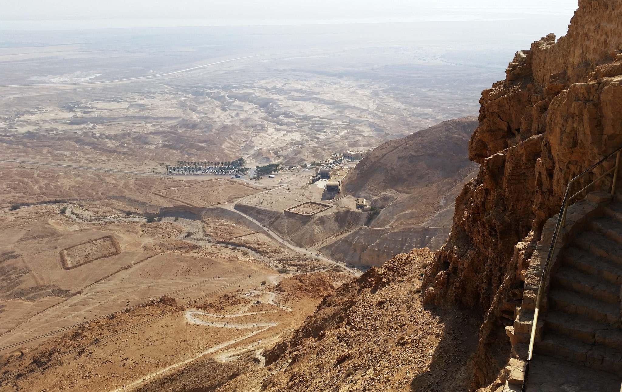 masada4 Masada Desert Fortress in Israel