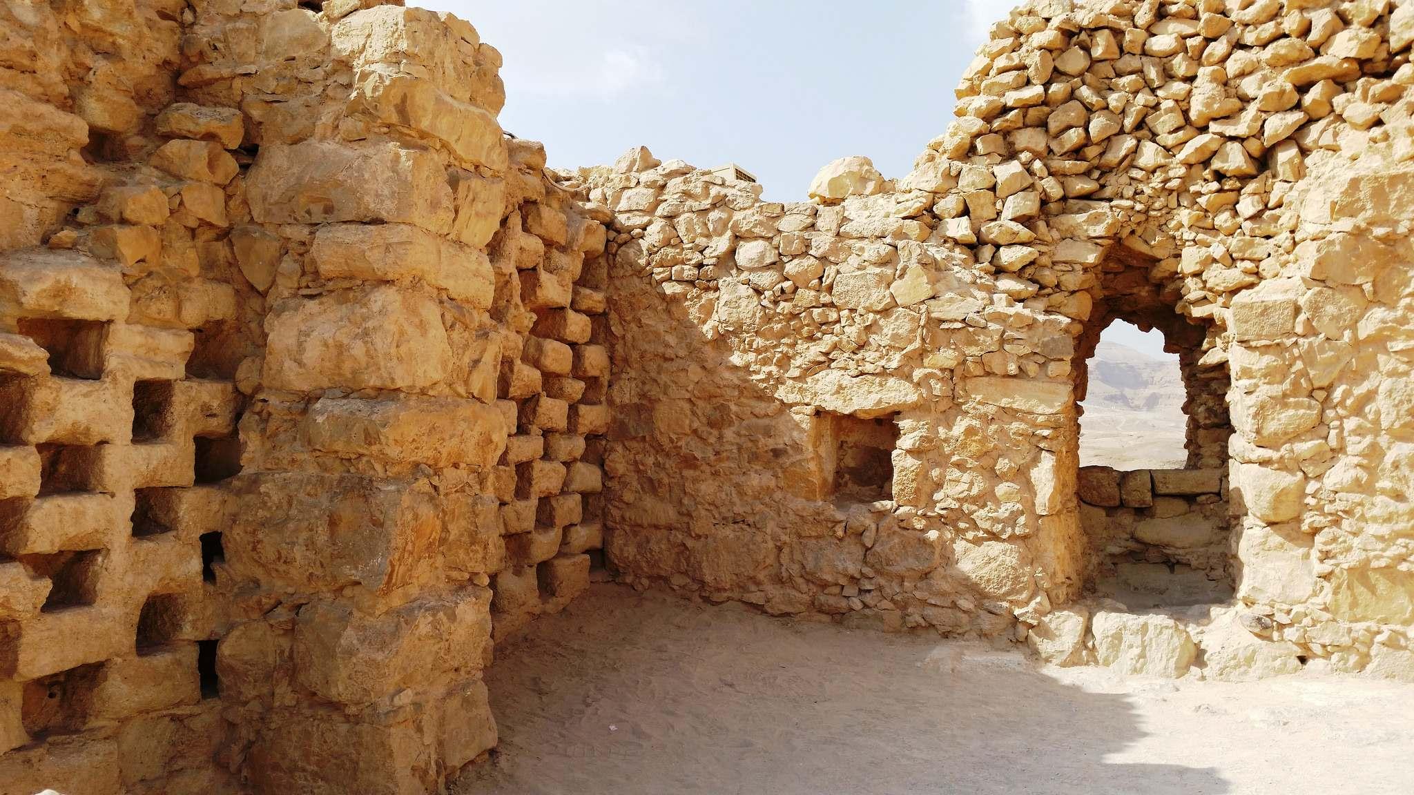 masada8 Masada Desert Fortress in Israel