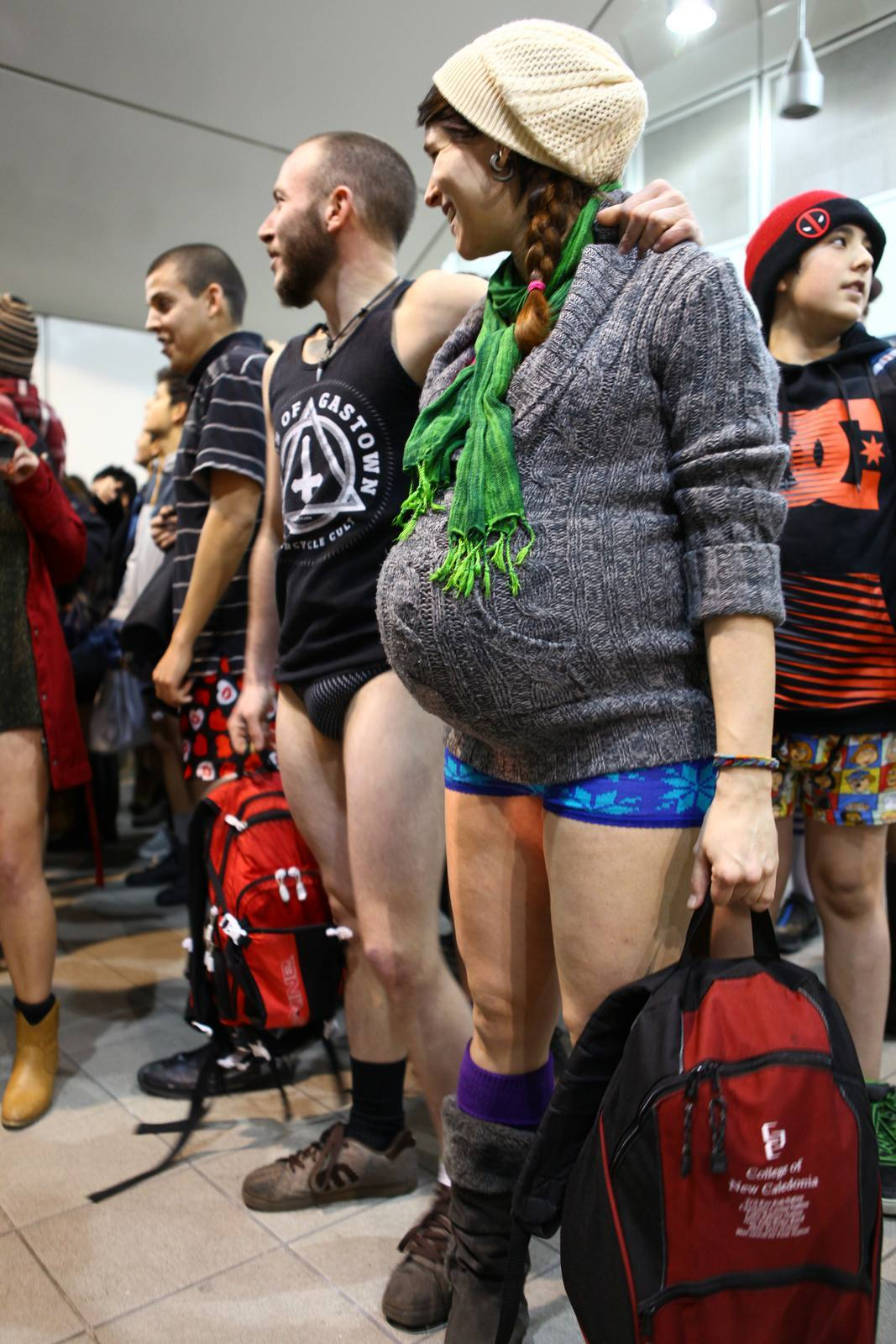 no pants2 No Pants Skytrain Ride 2015 in Vancouver