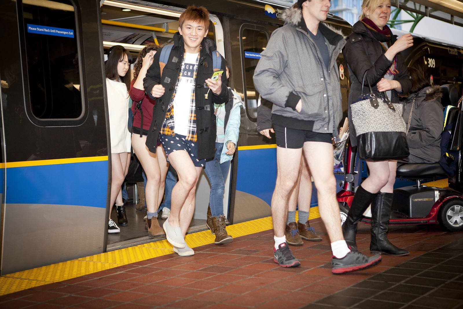 no pants3 No Pants Skytrain Ride 2015 in Vancouver