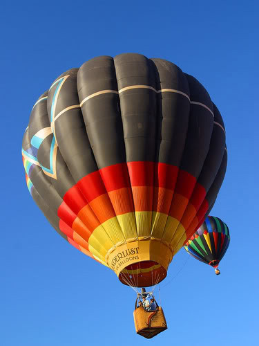 hot air baloon7 Perfect Gift   Hot Air Balloon Ride