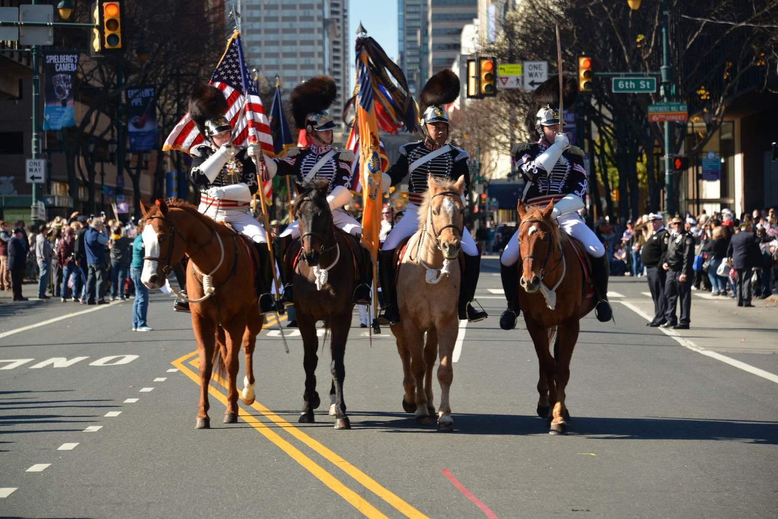 veterans day1 Philadelphia Veterans Day Parade 2015
