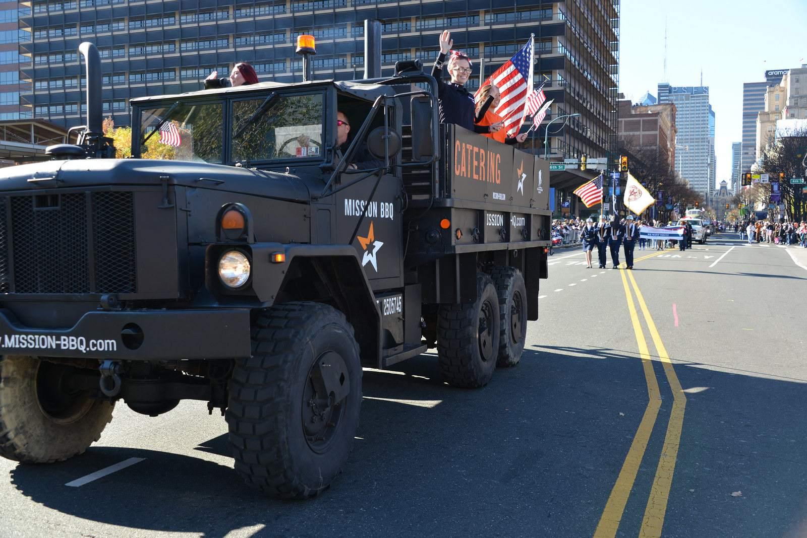 veterans day13 Philadelphia Veterans Day Parade 2015