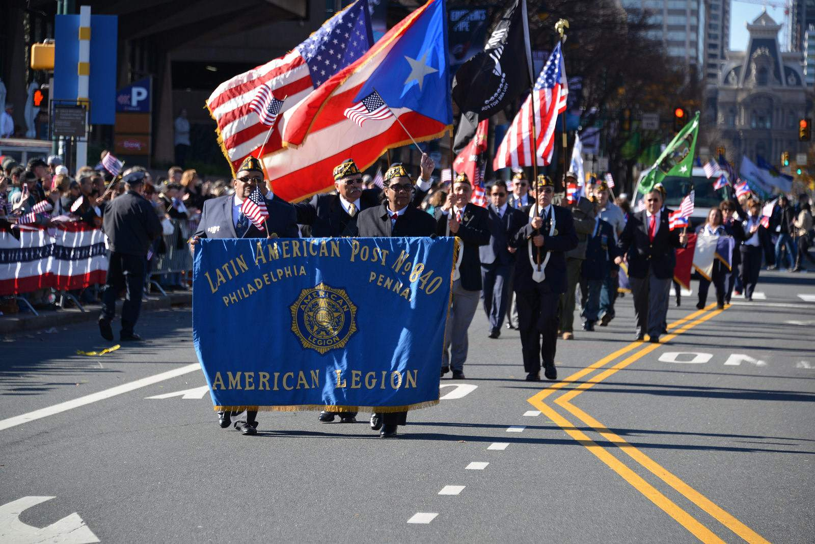 veterans day5 Philadelphia Veterans Day Parade 2015