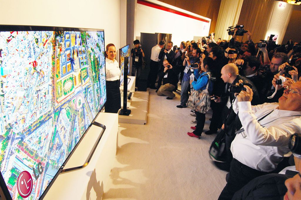 lg ces10 LG Showcase at CES 2013, Las Vegas