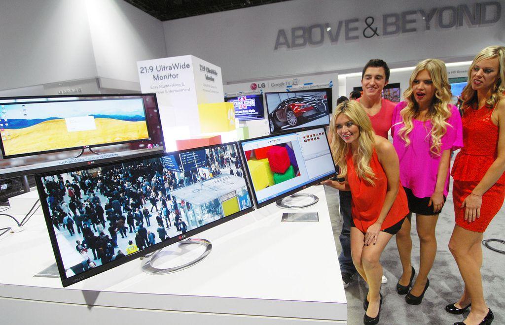 lg ces2 LG Showcase at CES 2013, Las Vegas