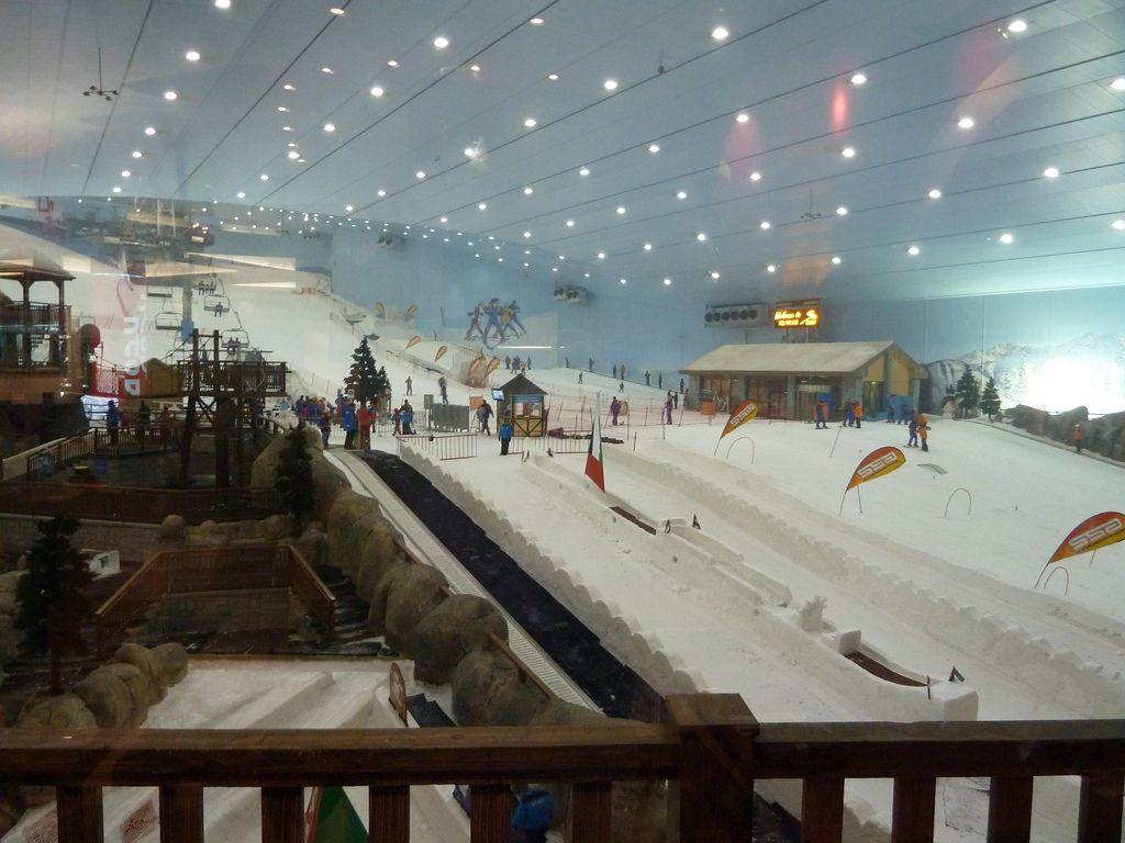 ski dubai4 Ski Dubai   Unusual Place To Ski