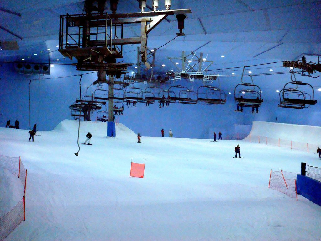 ski dubai5 Ski Dubai   Unusual Place To Ski