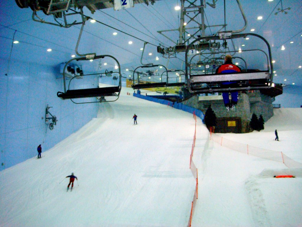 ski dubai7 Ski Dubai   Unusual Place To Ski