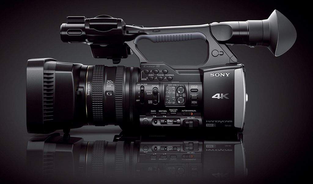sony fdr ax11 Sony FDR AX1   Low Budget Filming 4K Handycam