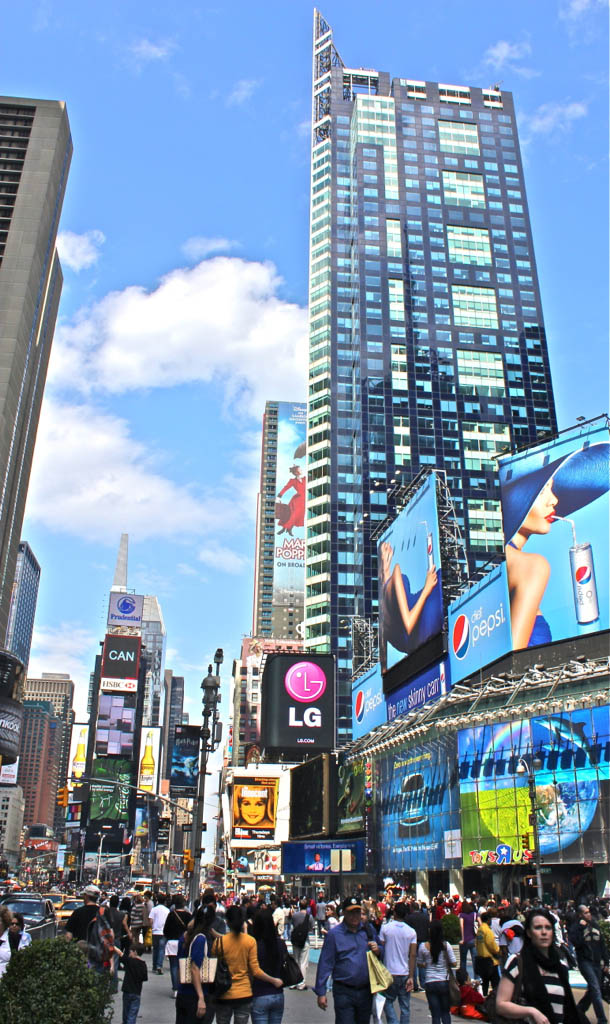 times square9 Times Square   Most Visited Places in The World