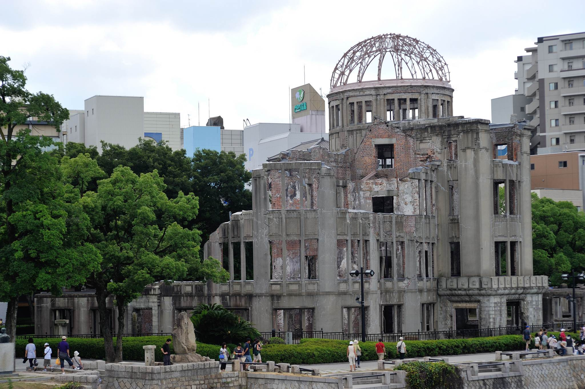 a bomb dome2 Walk around Genbaku Dome in Hiroshima