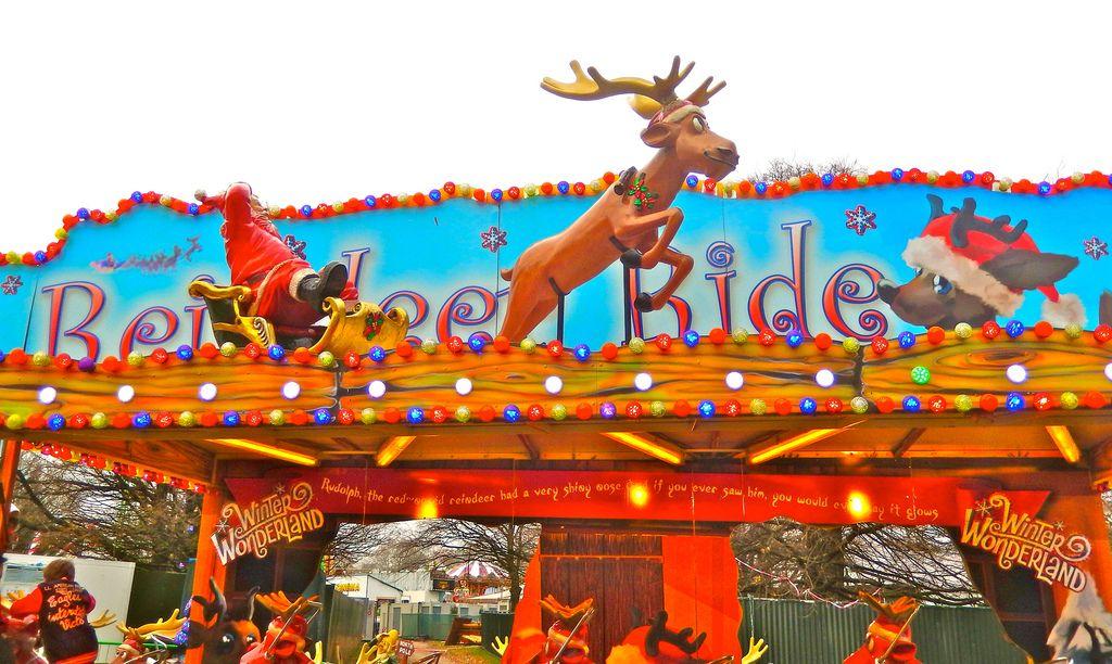 wonderland3 Winter Wonderland in Hyde Park, London