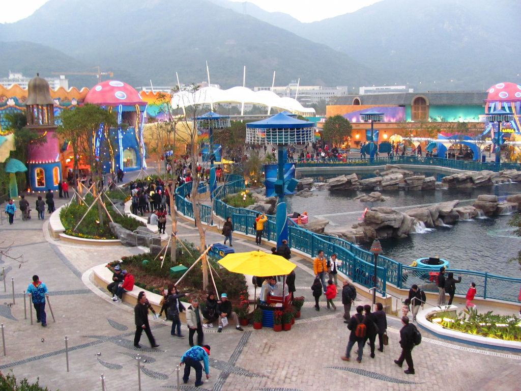 ocean park hong kong12 World Class Ocean Park in Hong Kong