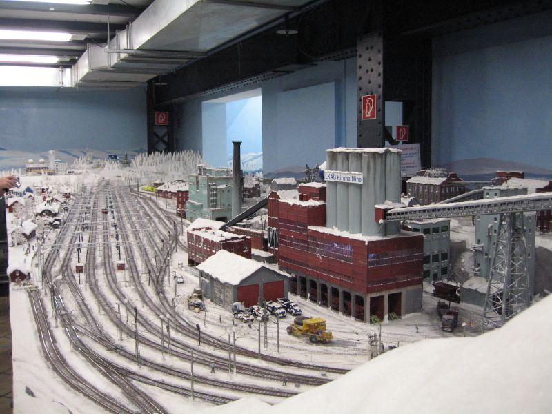 wunderland miniatur18 Worlds Biggest Miniatur Railway Wunderland Hamburg