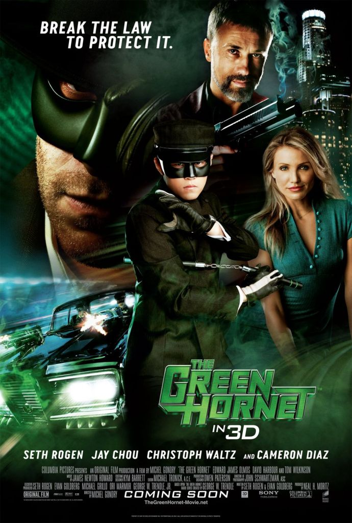green hornet movie The Green Hornet Goes 3D