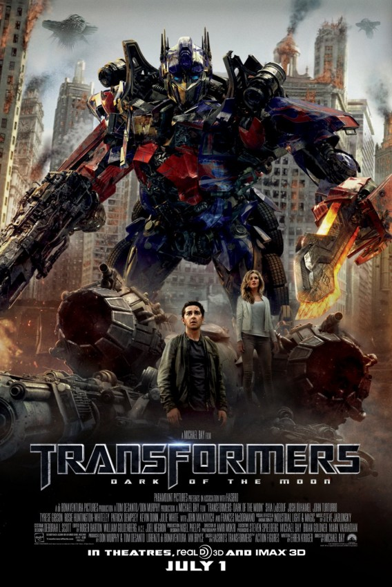 transformers movie3 Last 3D Transformers with Shia LaBeouf   Dark of the Moon