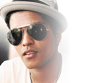 bruno mars9 Bruno Mars Reached Number One in US Charts with Latest Hit Locked Out Of Heaven