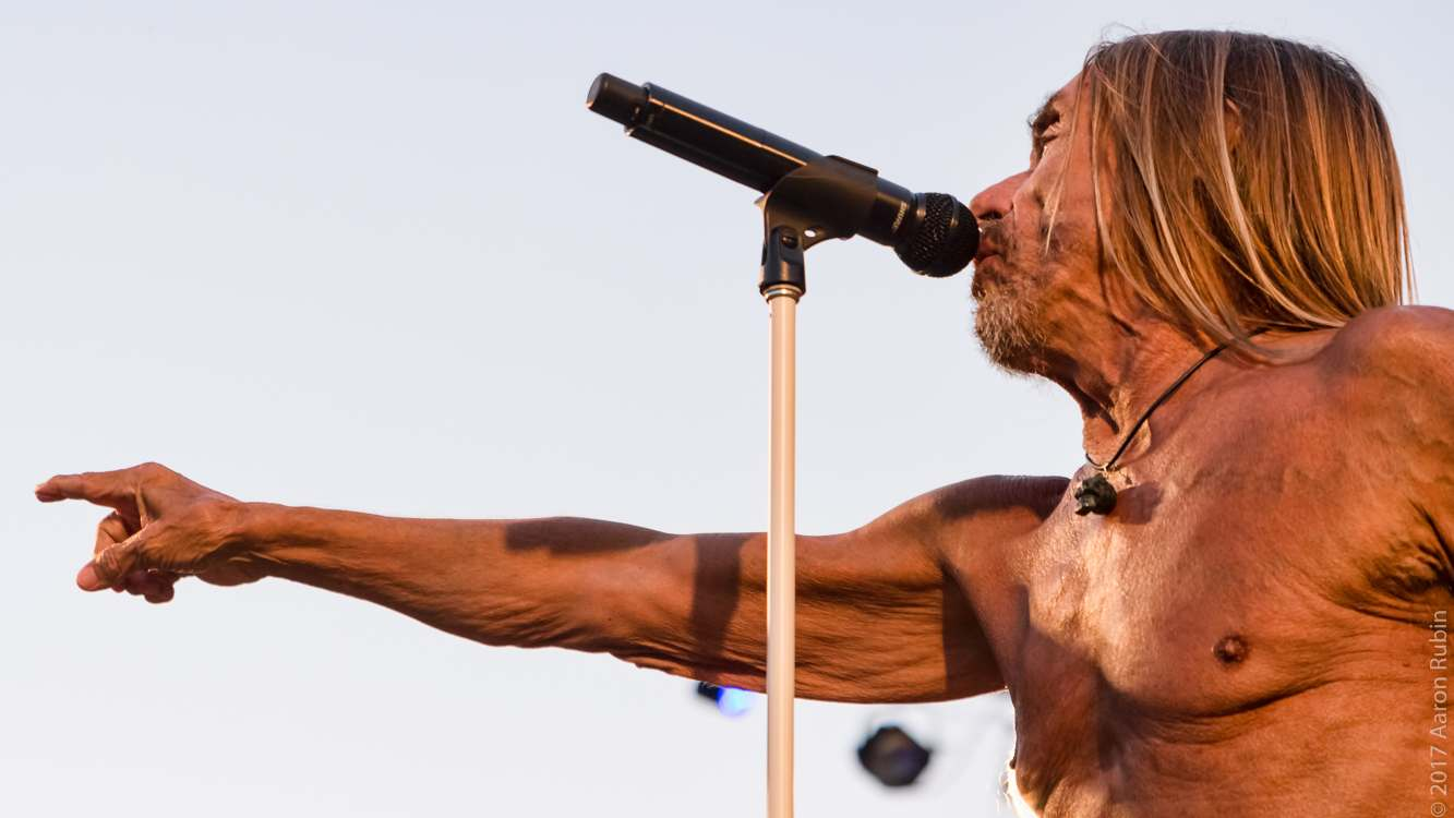 iggy pop10 Iggy Pop at Burger Boogaloo 2017