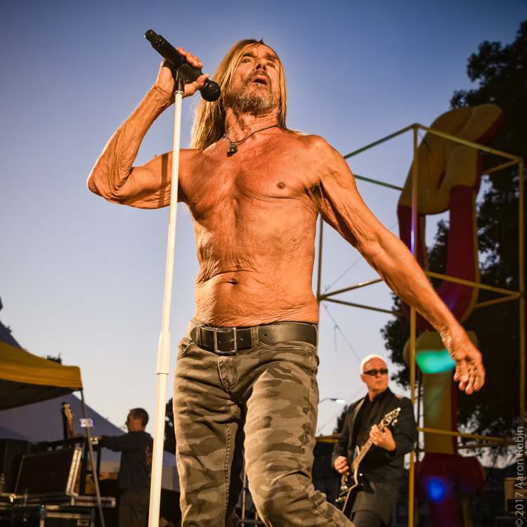 iggy pop3 Iggy Pop at Burger Boogaloo 2017