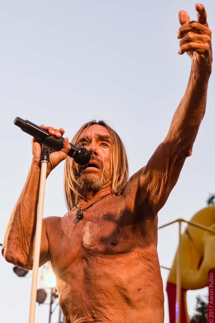 iggy pop8 Iggy Pop at Burger Boogaloo 2017