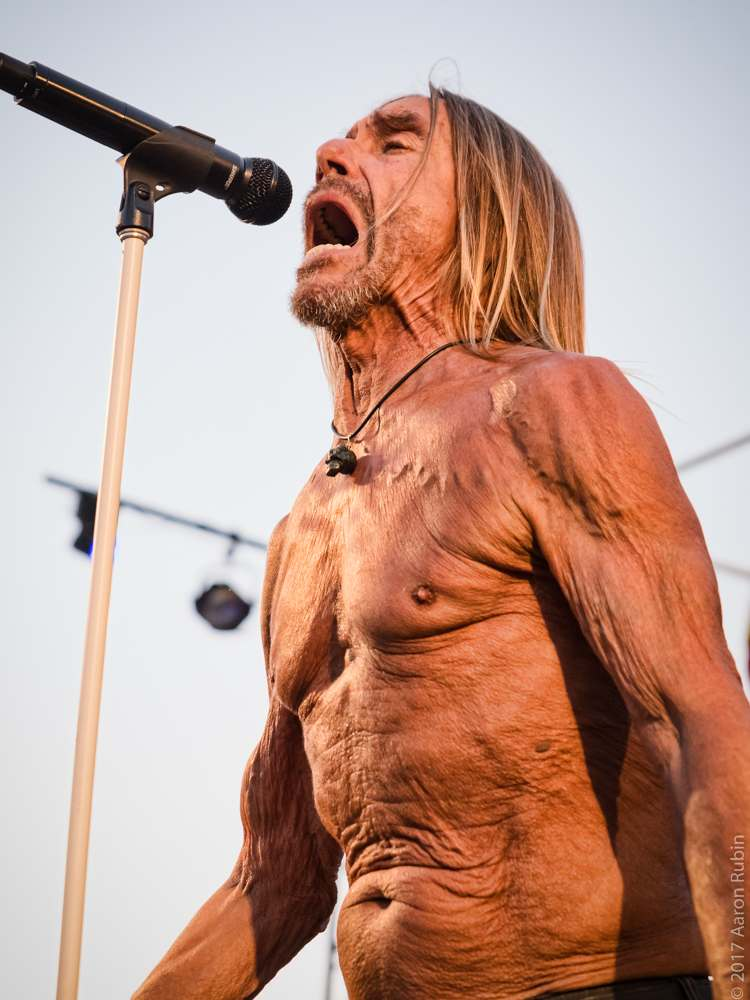 iggy pop9 Iggy Pop at Burger Boogaloo 2017