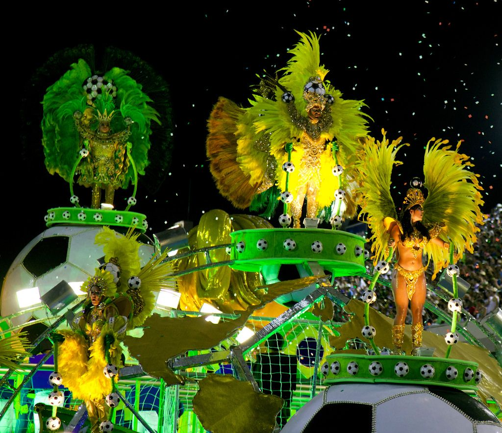 carnival rio6 The Rio Carnival 2014 in Photos