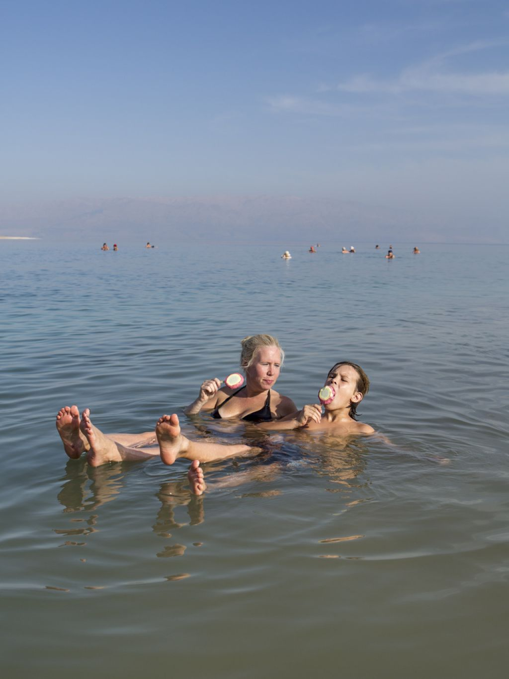 dead sea7 Floating on the Dead Sea by Itamar Grinberg