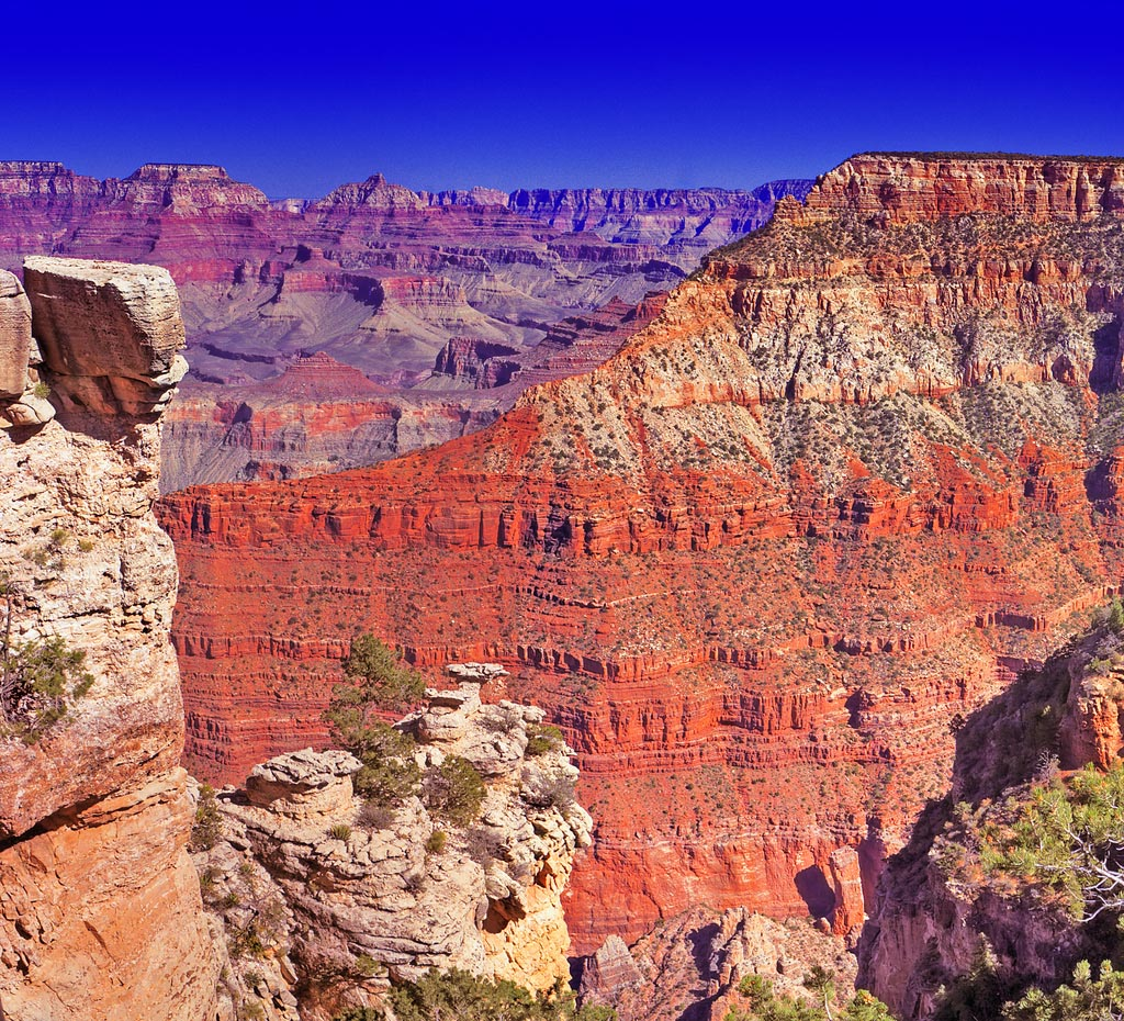 grand canyon national park The Grand Canyon in Gorgeous Colors