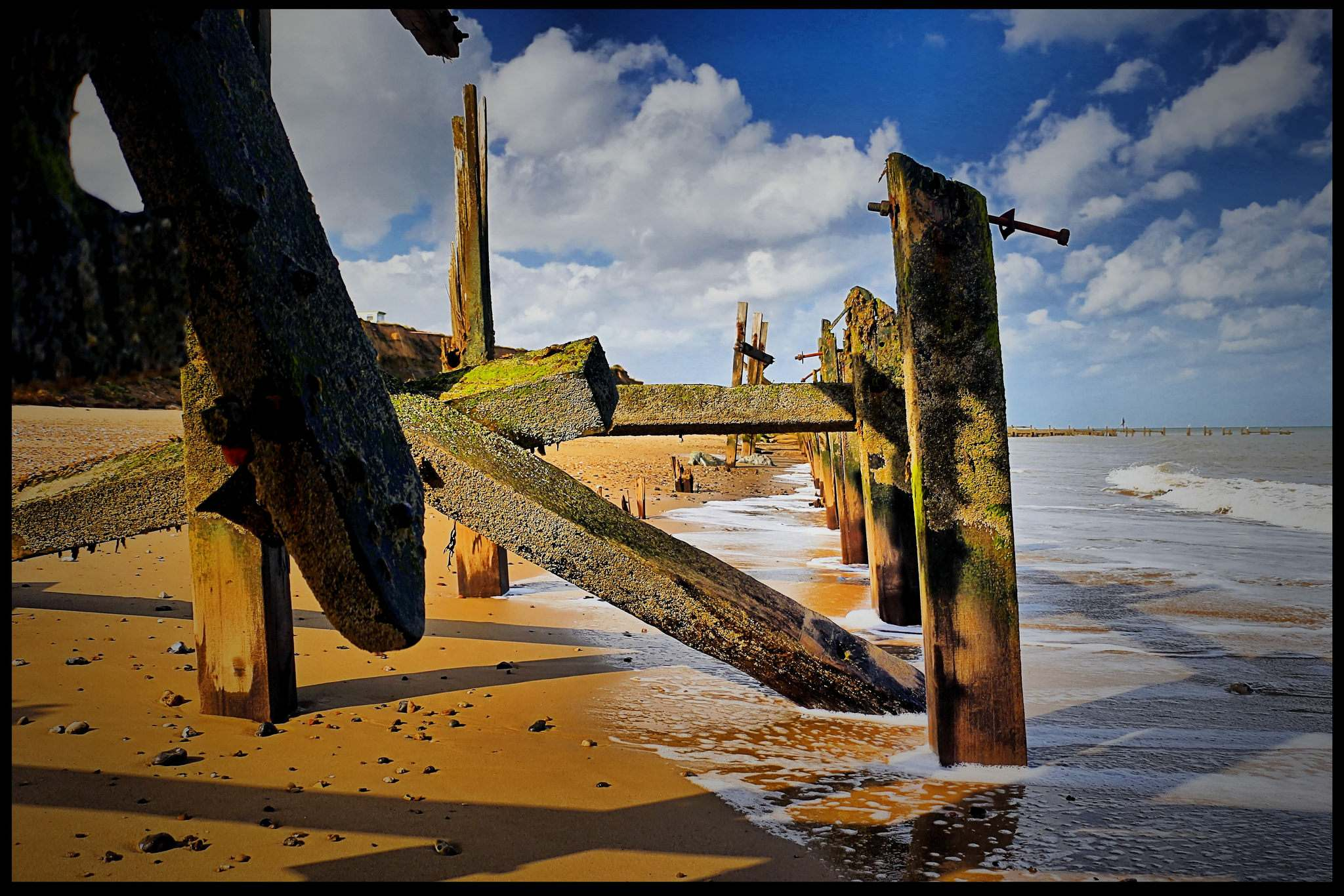 beach wallpapers1 Happisburgh Norfolk Beach Wallpapers