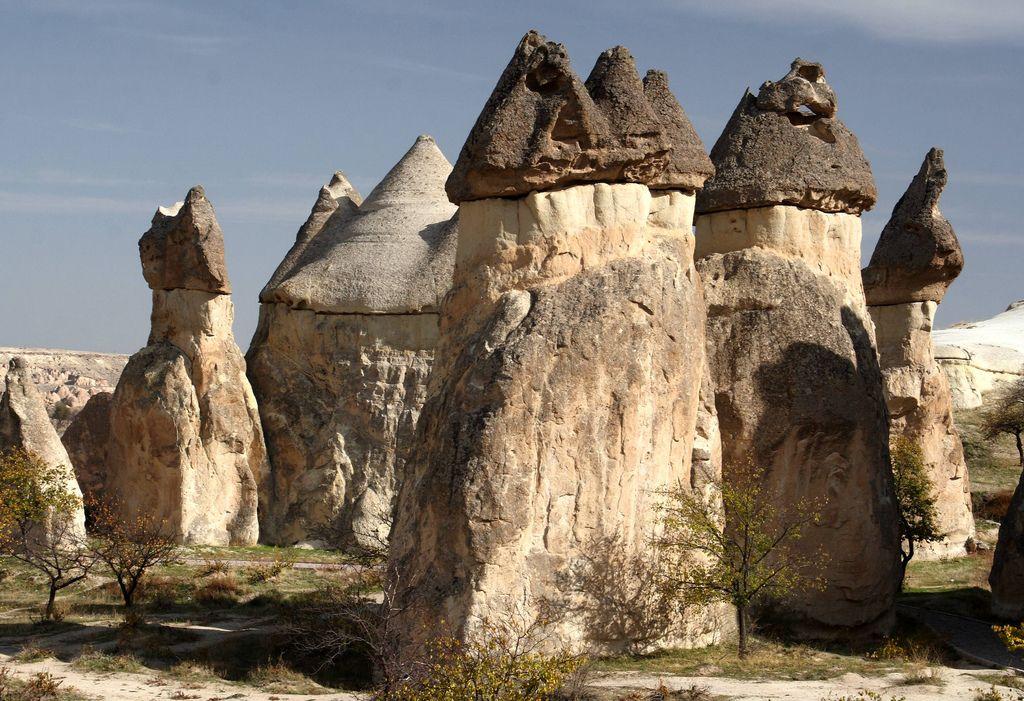 cappadocia rock site1 Nature Wonder Cappadocia