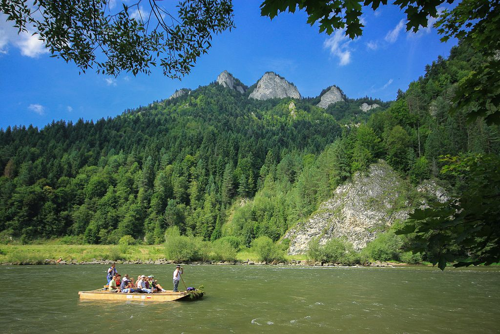 river rafting4 Rafting down the Dunajec Gorges
