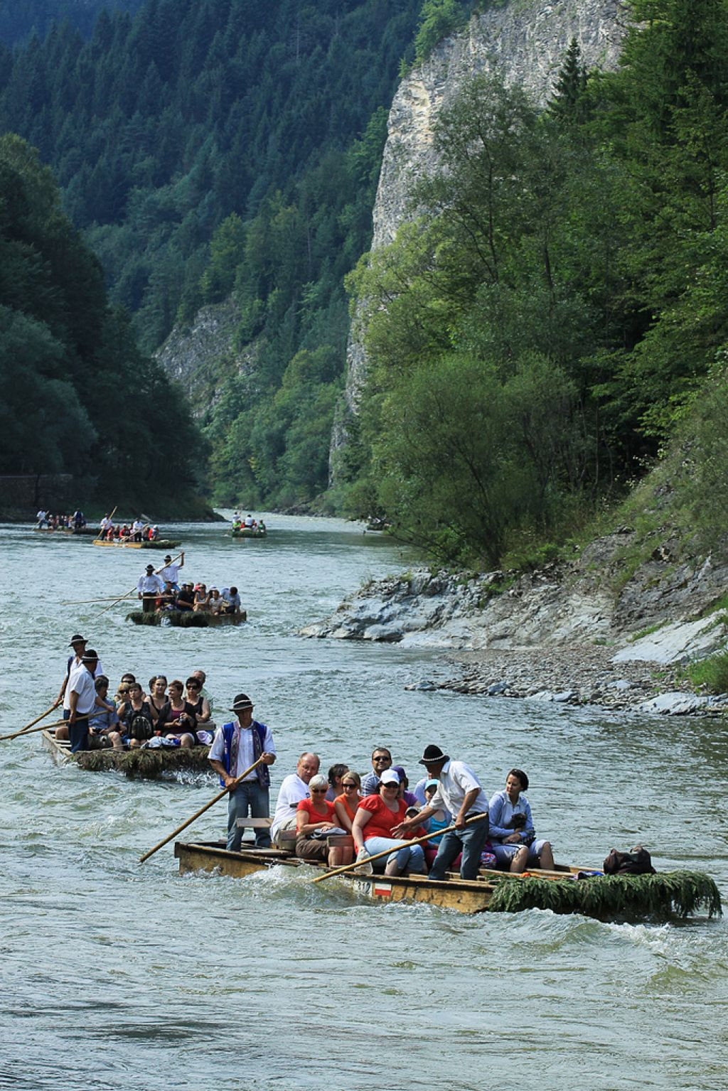 river rafting5 Rafting down the Dunajec Gorges