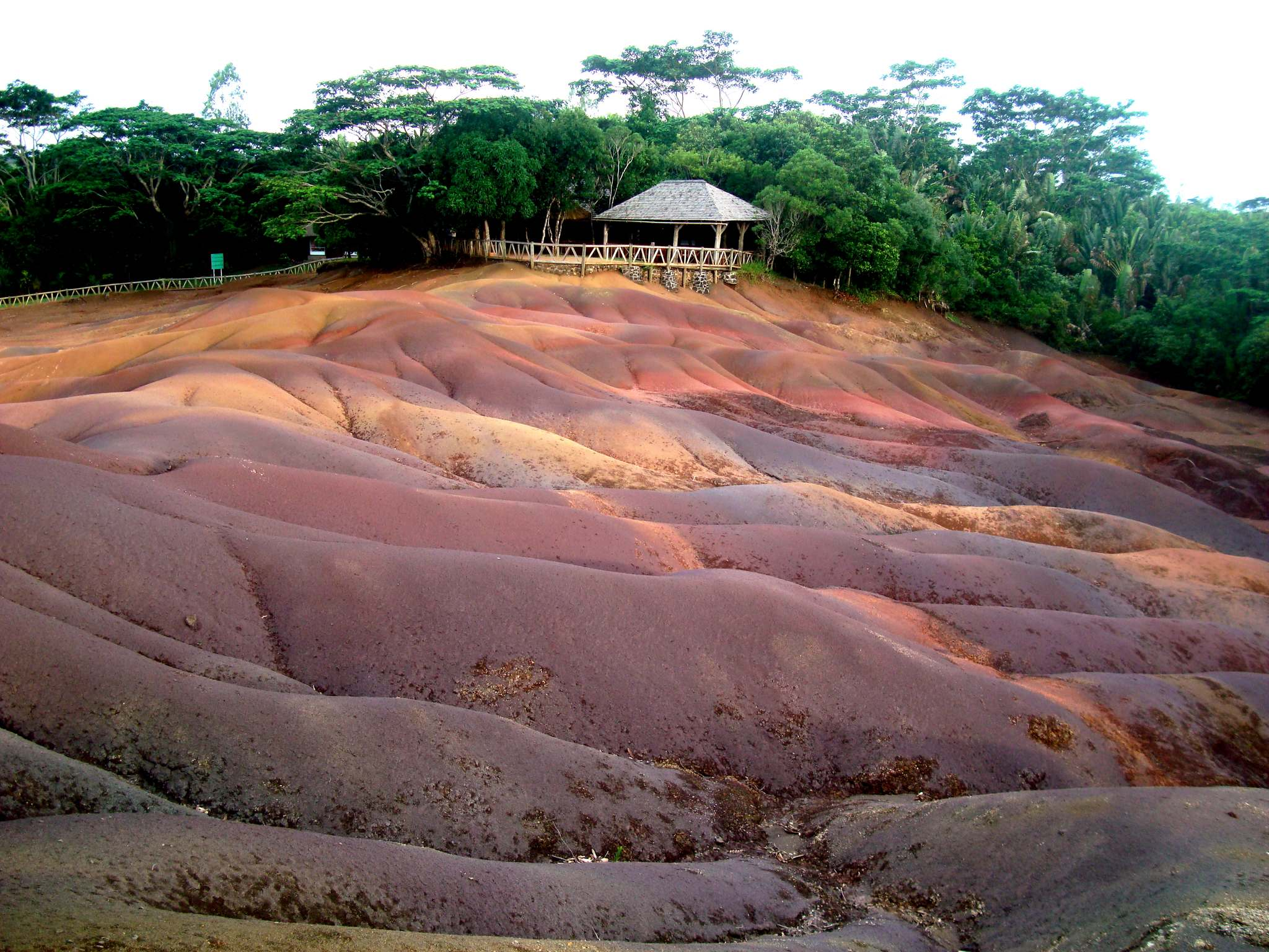 seven colours earth The Seven coloured earth of Chamarel, Mauritius