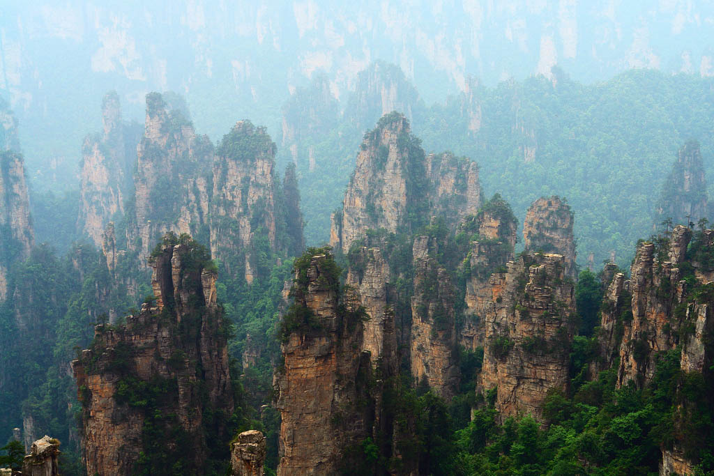 zhangjiajie2 Zhangjiajie   National Forest Park That Inspired Avatar