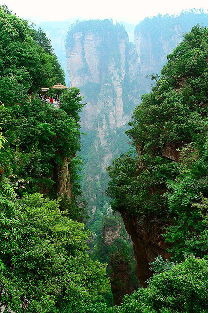 zhangjiajie4 Zhangjiajie   National Forest Park That Inspired Avatar