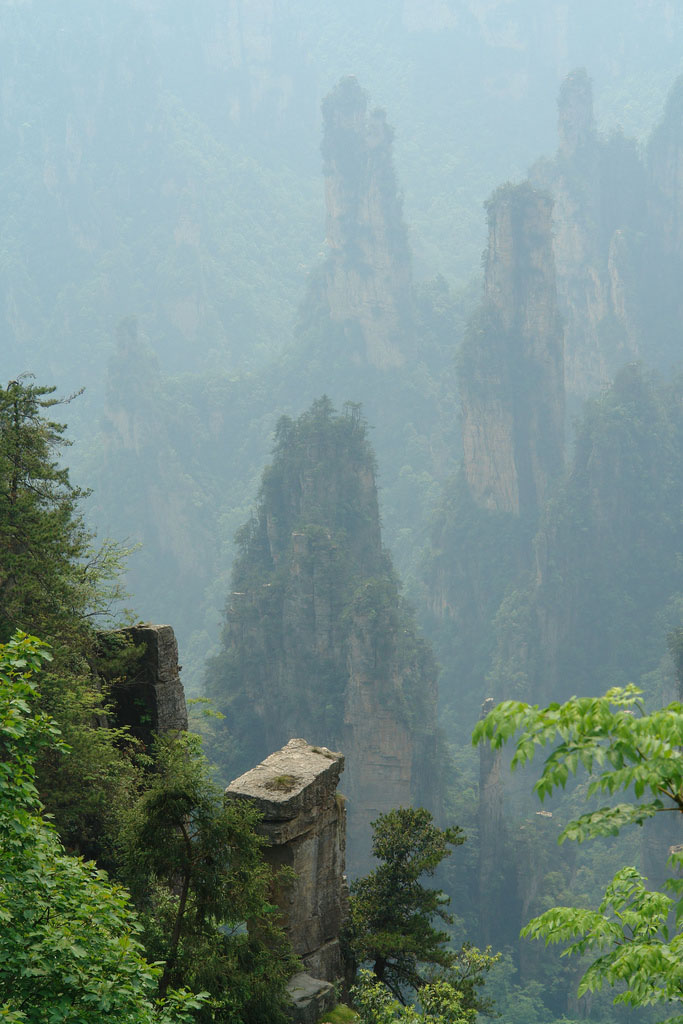 zhangjiajie6 Zhangjiajie   National Forest Park That Inspired Avatar