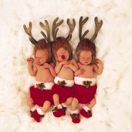 anne geddes babies3 Babies Come as Three Angels by Anne Geddes