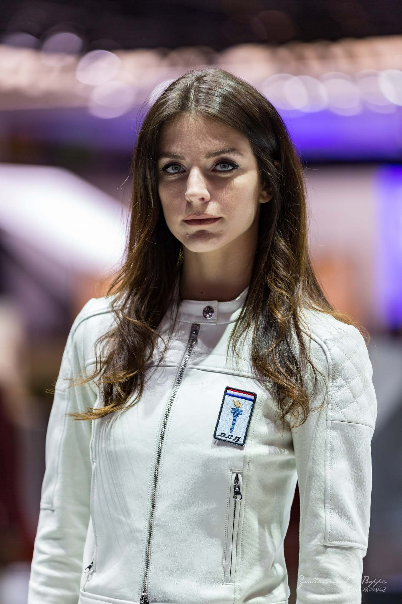 sexy hostess12 Beauty at Geneva International Motor Show 2017